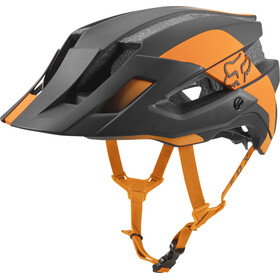 Fox Flux Mips Conduit Trail Casco Uomo, atomic orange